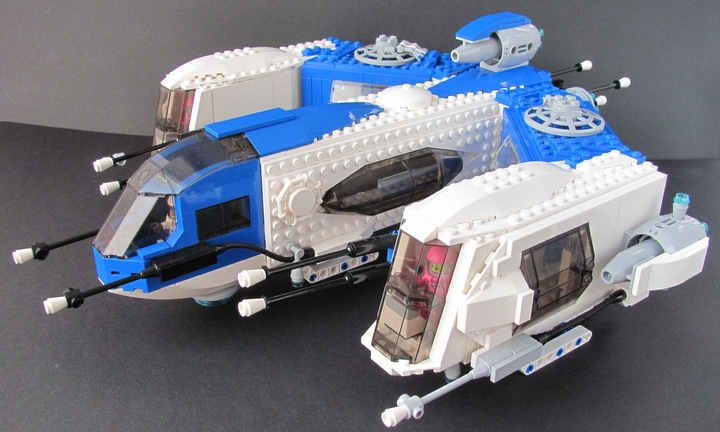 LEGO MOC - In a galaxy far, far away... - Trident Prime