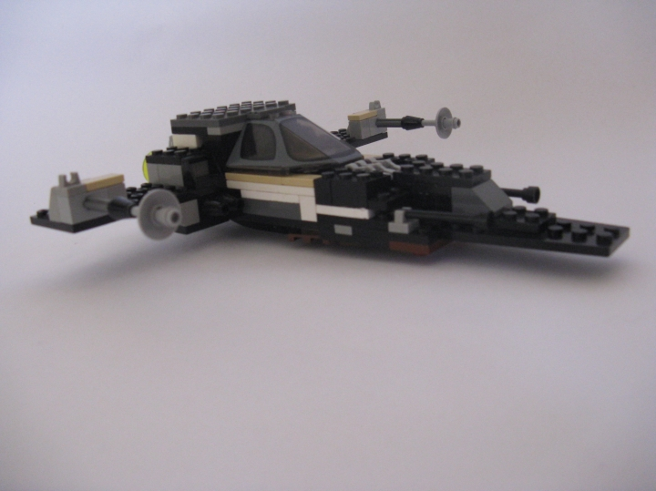 LEGO MOC - In a galaxy far, far away... - Fighter-bomber
