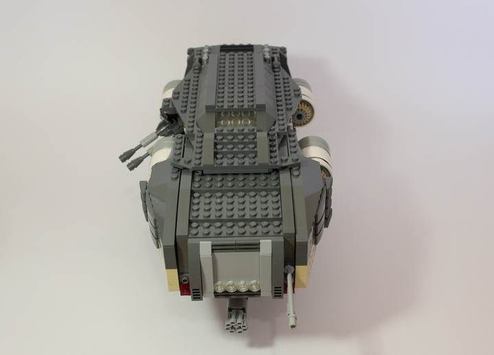 LEGO MOC - In a galaxy far, far away... - Rapid Response patrol spaceship Scorpio RR-4