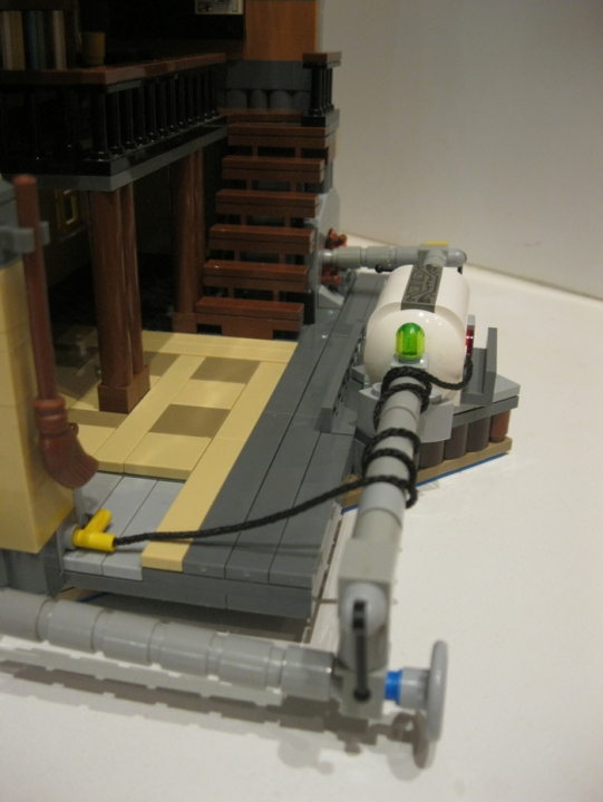 LEGO MOC - Because we can! - Switzerland of 'Clean' toilets