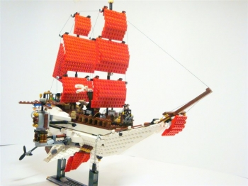 "Steampunk styled ""Scarlet Sails"""