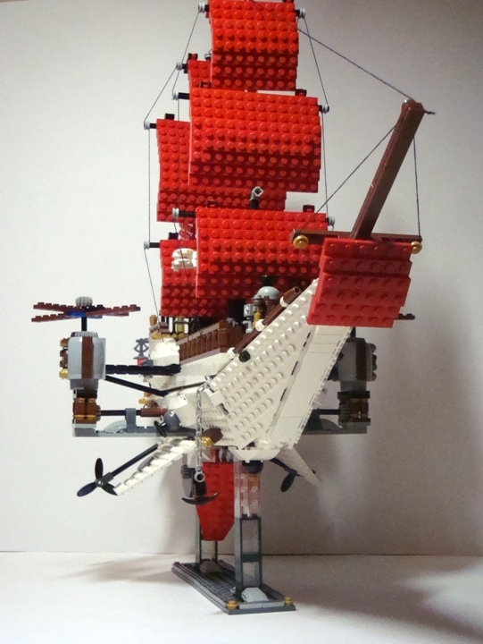 LEGO MOC - Steampunk Machine - Steampunk styled 'Scarlet Sails': Последнее фото.