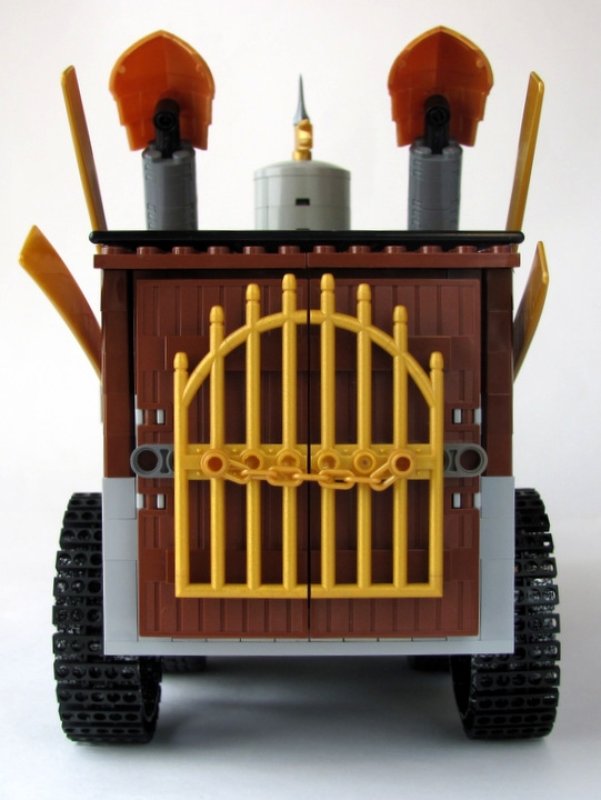 LEGO MOC - Steampunk Machine - Excalibur: <br><i>- I will not show you what is inside ;)</i><br>