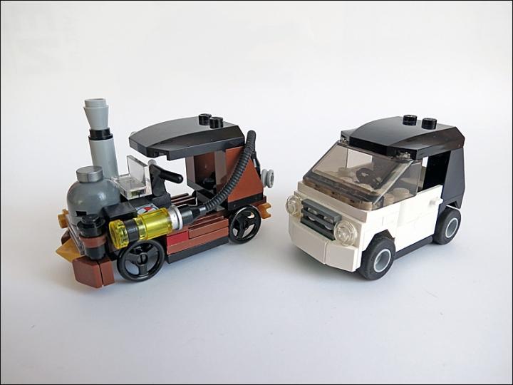 Lego Steampunk Train Lego Moc Steampunk Machine