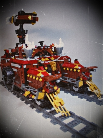 Royal armoured train of Blackferrum\