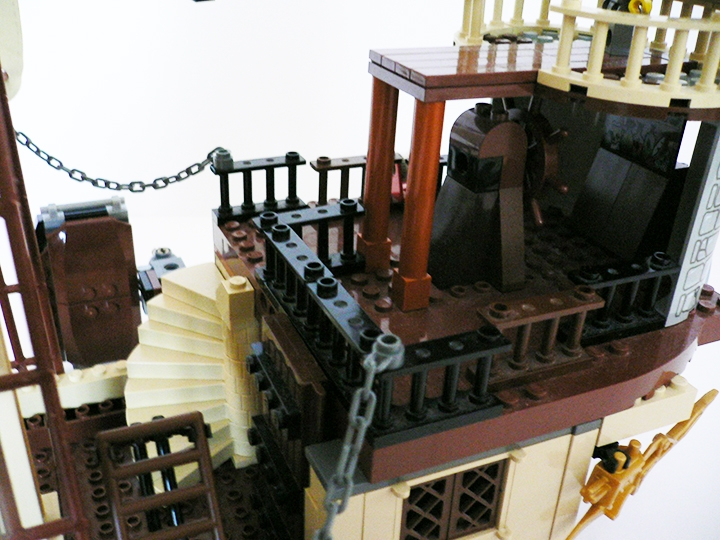LEGO MOC - Steampunk Machine - Flying Steamship: Капитанский... Балкончик?<br />