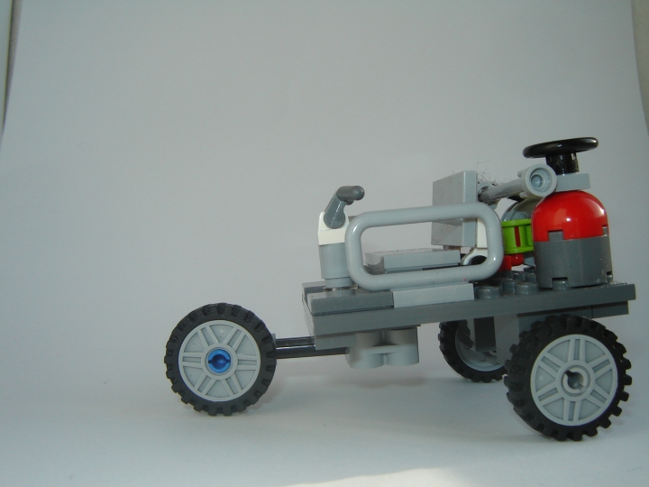 LEGO MOC - Steampunk Machine - Паровой автомобиль .