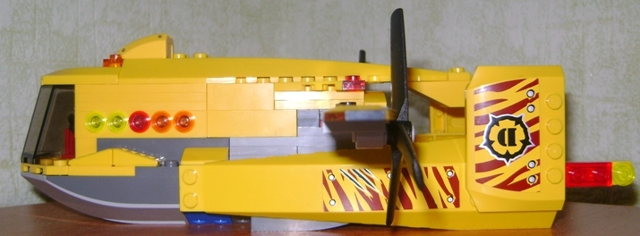 LEGO MOC - Mini-contest 'Zeppelin Battle' - Zeppelin 'Tireless'