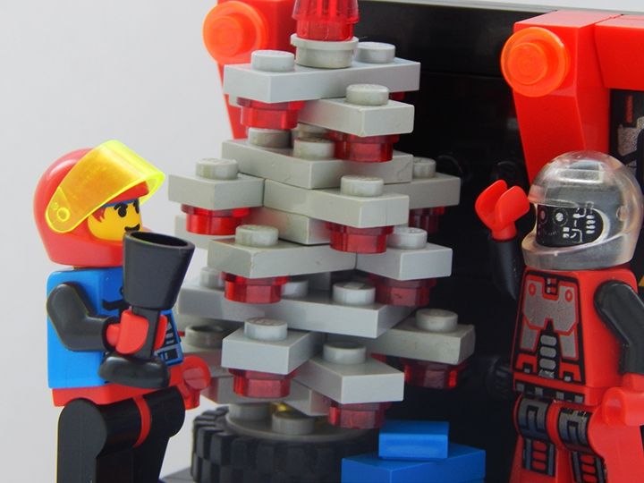 LEGO MOC - New Year's Brick 2014 - New Year in Spyrius