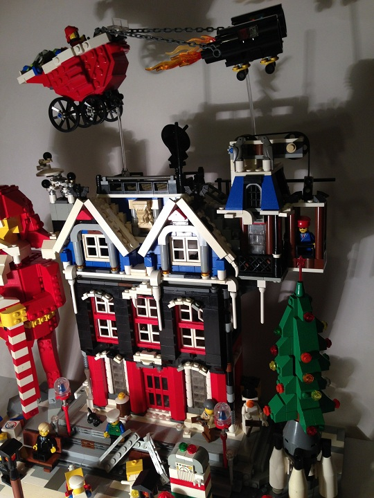 LEGO MOC - New Year's Brick 2014 - Новый 2014 LeGod
