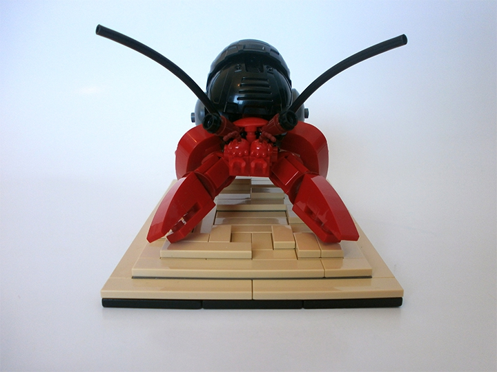 LEGO MOC - 16x16: Animals - Hermit crabs
