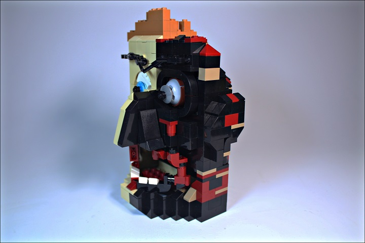 LEGO MOC - 16x16: Character - Two-Face Harvey