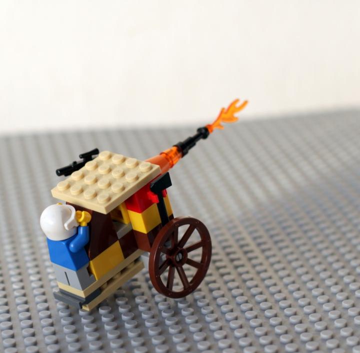 Bricker Lego Moc Nebolshaya Armiya 20 Go Veka