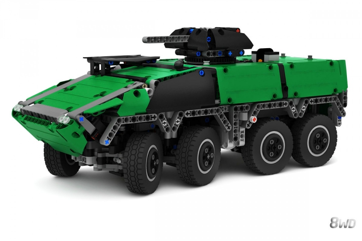 LEGO MOC - LDD-contest '20th-century military equipment‎' - GTK Boxer