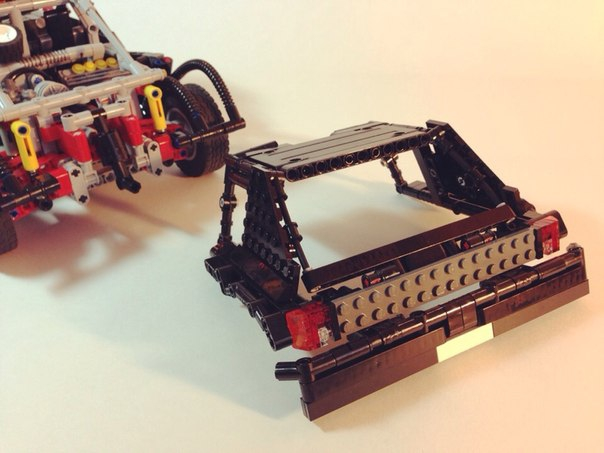 LEGO MOC - Technic-contest 'Car' - peugeot 205 t16