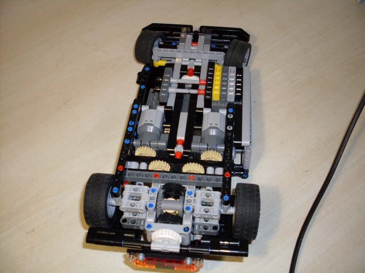 LEGO MOC - Technic-contest 'Car' - Спорткар