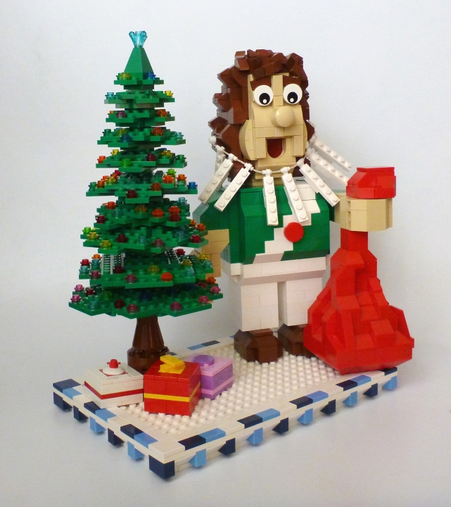 LEGO MOC - New Year's Brick 2016 - Лучший в мире