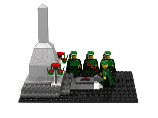 LEGO MOC - Joy and Sadness of Great Victory - Lighting the Eternal Flame