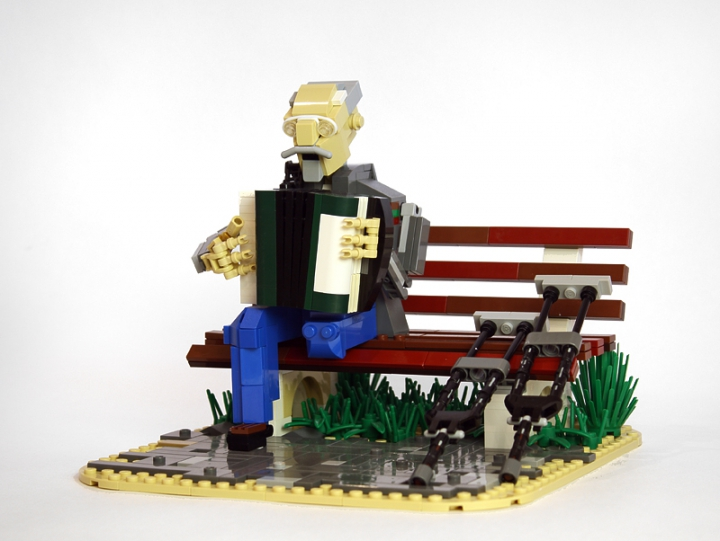 LEGO MOC - Joy and Sadness of Great Victory - Veteran: <br />