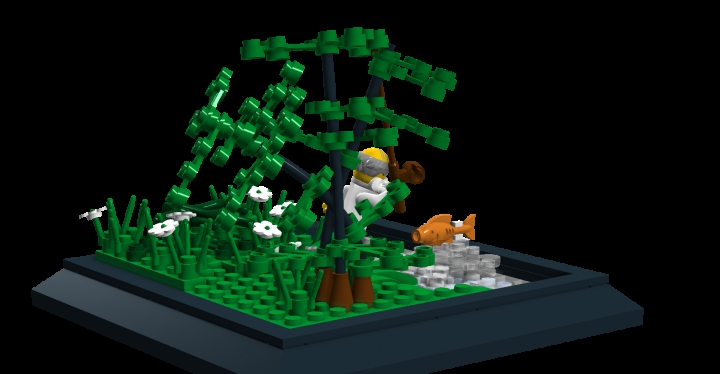 LEGO MOC - Russian Tales' Wonders - The Tale of the Fisherman and the Fish: The Tree.