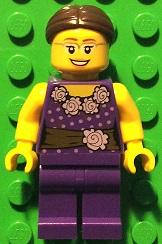Bricker Lego Minifigure Llp005 Legoland Park Female
