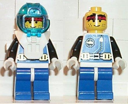Lego Minifigures Aquanaut 1 aqu001