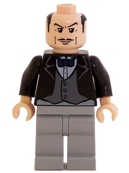 Bricker - LEGO Minifigure - bat014 Alfred Pennyworth, the ...