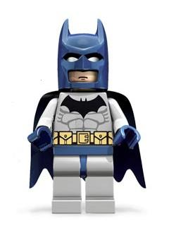 Lego Detailed Listing For Batman Light Bluish Gray Suit