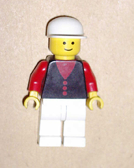 City Post Office Minifigures Lego Red Legs Black Hat 1063 1067 post005