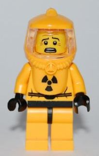 Lego Yellow Head Black Goatee Moustache White Pupils Musketeer