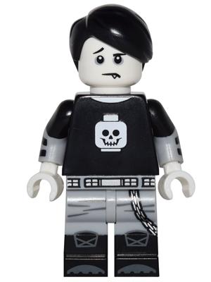 bricker lego minifigure col248 spooky boy minifig