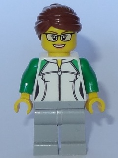 LEGO® Minifigur City Bahnarbeiter cty427