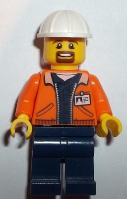 Stumpy 10k tree suit guy minifigure from set 60174 Lego City Mountain Police