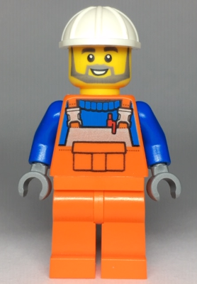 Lego mini figure Res-Q Rescue Worker