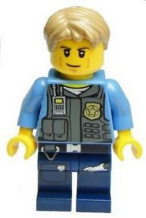 Bricker - LEGO Minifigure - cty356 Police - LEGO City ...