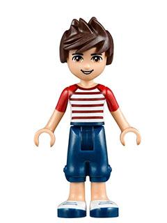 Bricker Lego Minifigure Frnd093 Friends Noah Dark