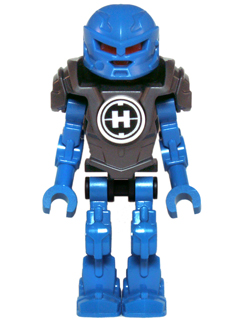 Bricker Lego Minifigure Hf020 Hero Factory Mini