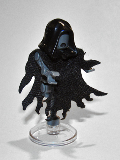 LEGO Minifigure Cape Cloth harry potter Dementor Style Tattered