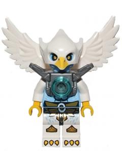 Bricker Lego Minifigure Loc047 Ewar Flat Silver Armor