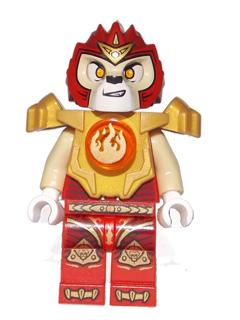 Bricker Lego Minifigure Loc093 Laval Fire Chi Heavy