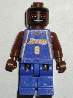 Bricker Lego Minifigure Nba035 Nba Kobe Bryant Los