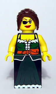 Bricker Lego Minifigure Pi126 Pirate Female Skirt