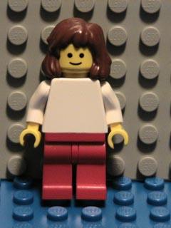 Bricker Lego Minifigure Pln113 Plain White Torso With