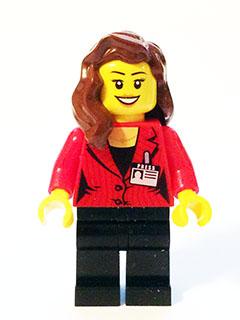 Bricker Lego Minifigure Sc011 Press Woman Reporter