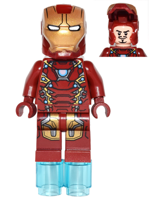 Bricker Lego Minifigure Sh254 Iron Man Mark 46 Armor
