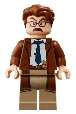 Lego ® Minifigs-Super Heroes-sh600-prison guards 76138