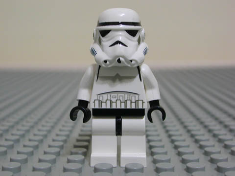 Bricker Lego Minifigure Sw036 Stormtrooper Yellow Head