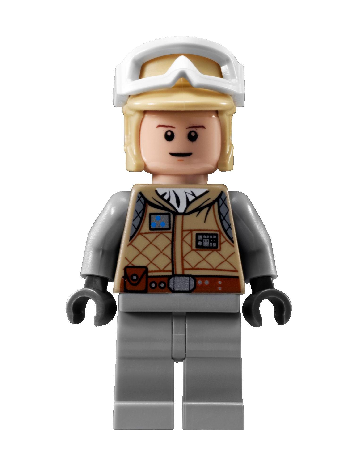 Bricker - LEGO Minifigure - sw098 Luke Skywalker (Hoth)