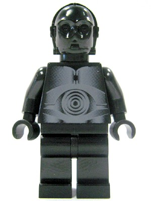 Authentic LEGO Star Wars White Assassin Droid Minifigure sw215 10188 Death Star