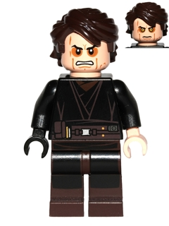 Bricker - LEGO Minifigure - sw361 Anakin Skywalker (Sith ...